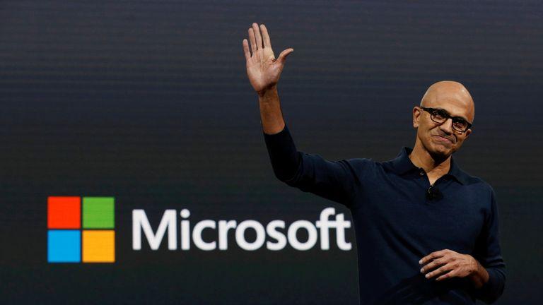 Microsoft Chief Executive Officer Satya Narayana Nadella