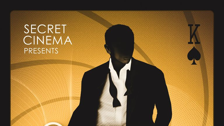 Secret Cinema returns with Casino Royale in 2019