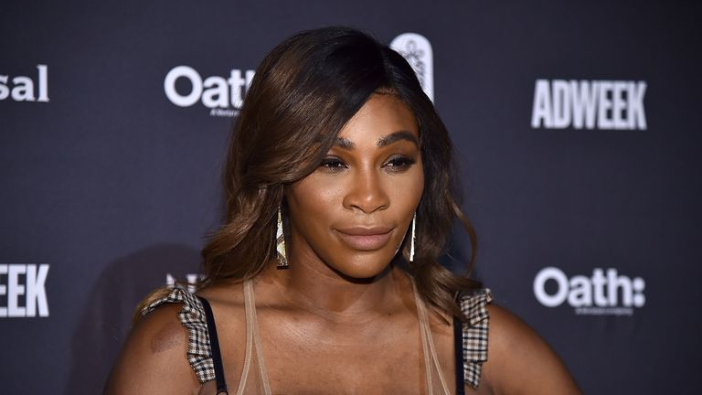 Serena Williams at Cipriani 25 Broadway on November 7, 2018 in New York City.