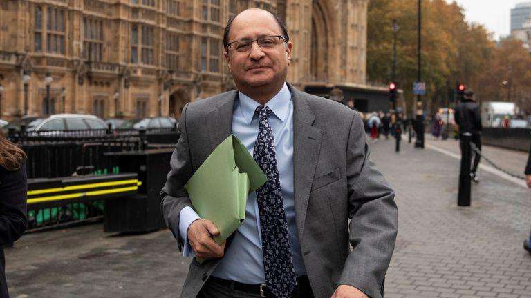 Shailesh Vara MP had backed Remain ahead of the EU referendum