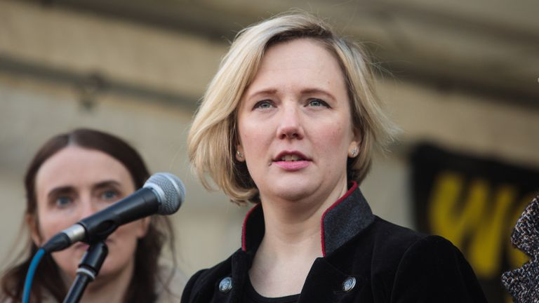 Stella Creasy urged women never to give up