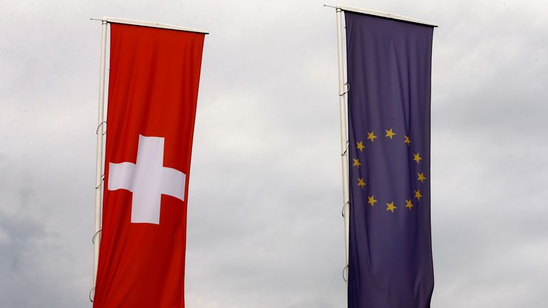 Switzerland currently enjoys a unique relationship with the EU
