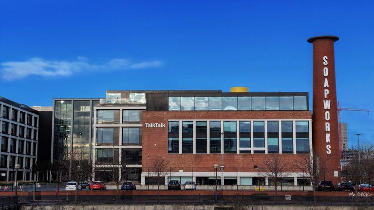 TalkTalk office Salford