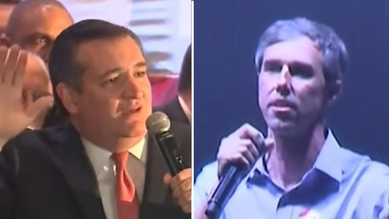 Ted Cruz and Beto O'Rourke both thanked the people of Texas