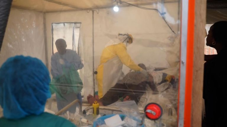 Aid officials say it will soon become the worst ebola outbreak in Congo's history