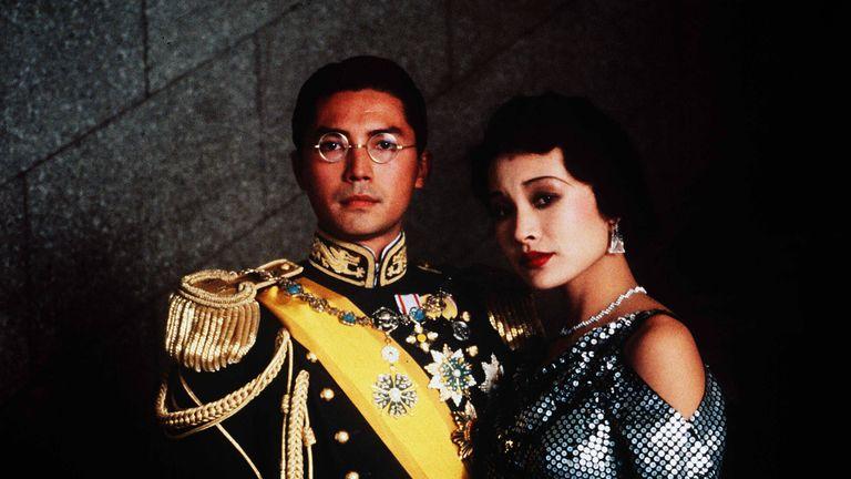 John Lone and Joan Chen in The Last Emperor