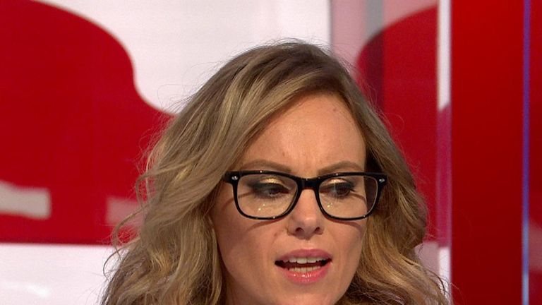 "Michelle Dewberry argues that Brexiteers have been disrespected ""since the second this referendum happened"""