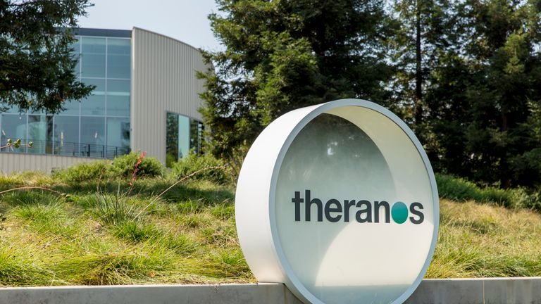 Theranos collapsed and Ms Holmes now faces a criminal trial for wire fraud