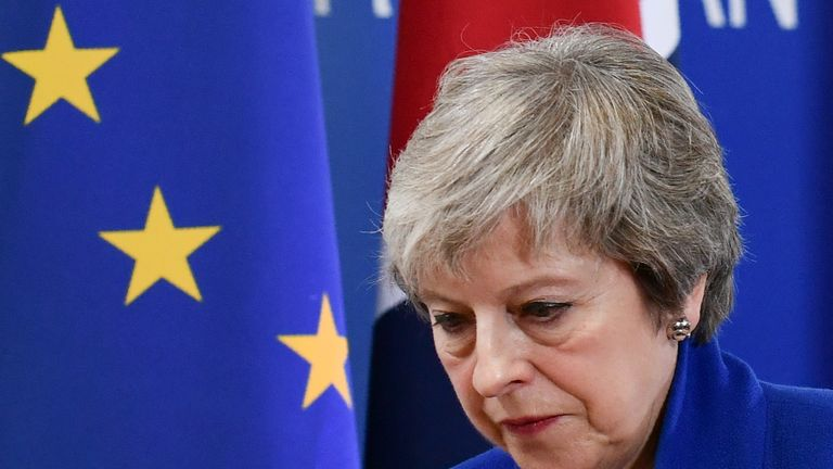 Theresa May is set to face the Commons on Monday afternoon