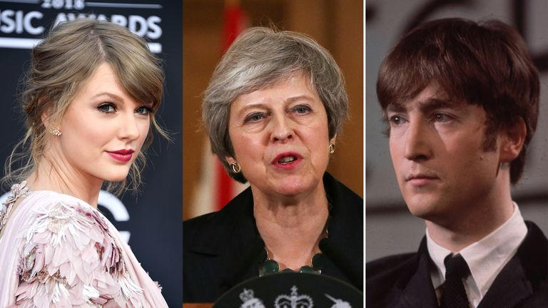 Taylor Swift is joined by the prime minister and a music legend in this week's quiz