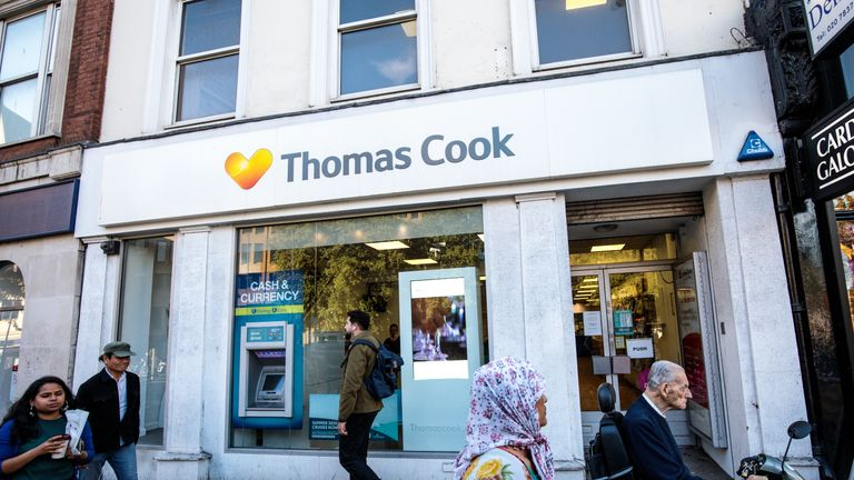 Thomas Cook operates package holidays as well as its airline