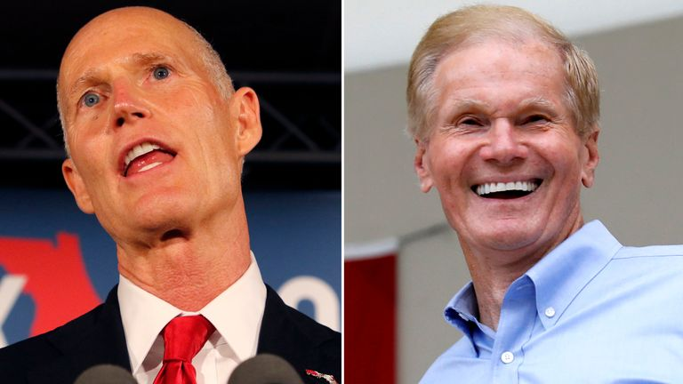 Rick Scott and Bill Nelson