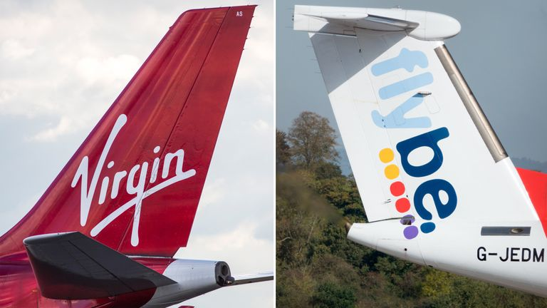 Virgin Atlantic and Flybe