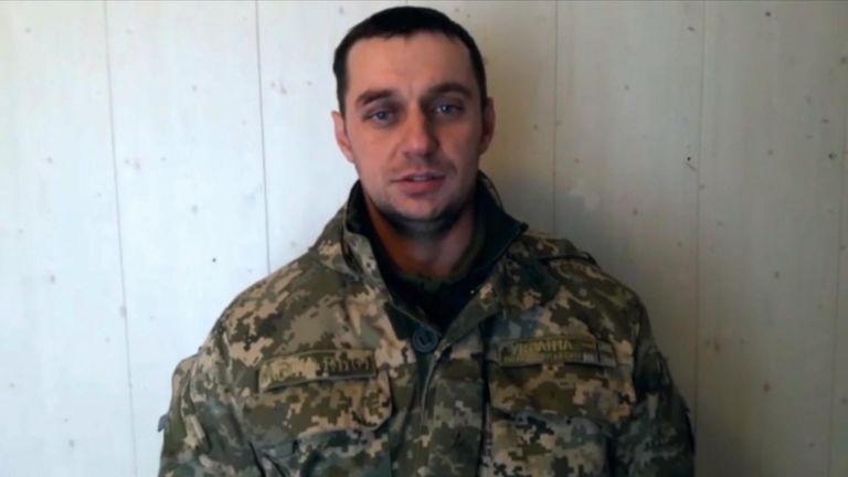 Man reportedly identified as Volodymyr Lisovyi