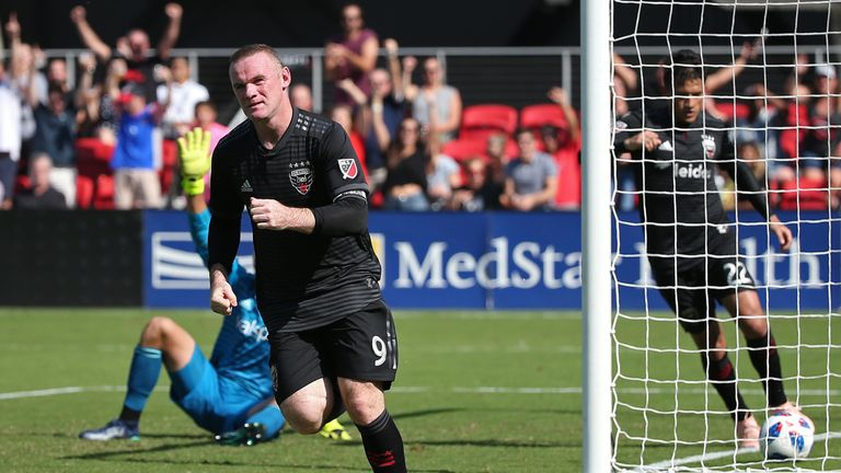 Wayne Rooney joined MLS side DC United