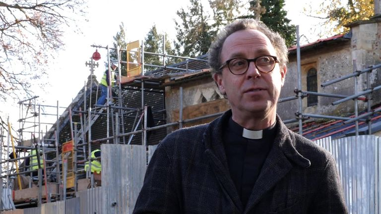 Reverend Dr Colin Heber-Percy said his church was maintained by the community