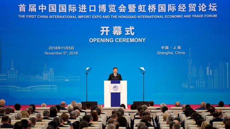 President Xi Jingping opens the Expo