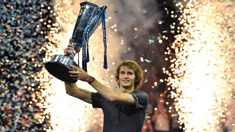Alexander Zverev stuns Novak Djokovic to win ATP Finals title in London | Tennis News |