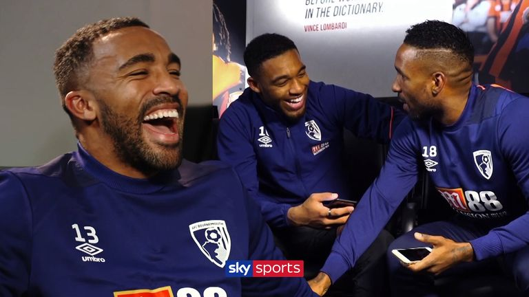 WATCH: How well do Bournemouth trio Callum Wilson, Jermain Defoe and Jordan Ibe know each other? | Football News |