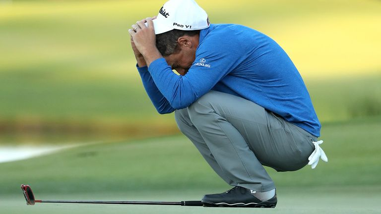 Tearful Howell Snaps 11-year PGA Win Drought at RSM Classic class=