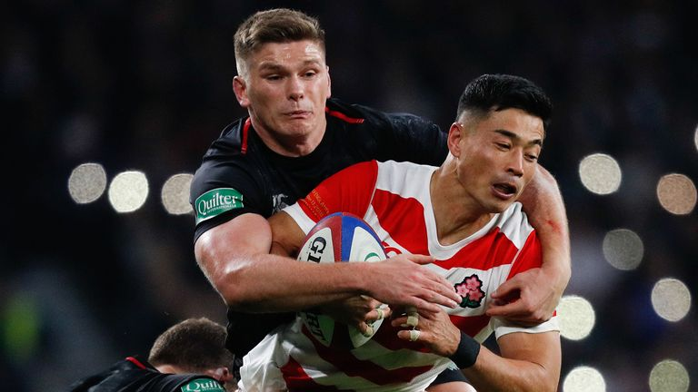 The Sky Sports rugby team analyse the key moments in England's win over Japan at Twickenham.