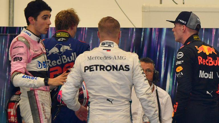 Brazilian GP: Max Verstappen and Esteban Ocon clash on and off track | F1 News