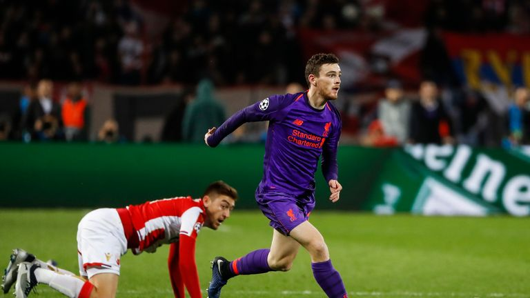 Andrew Robertson: Liverpool would usually be top after unbeaten start | Football News |