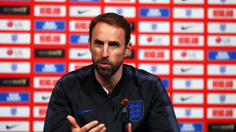 Gareth Southgate launches the FA's 'We Only Do Positive' handbook | Football News |