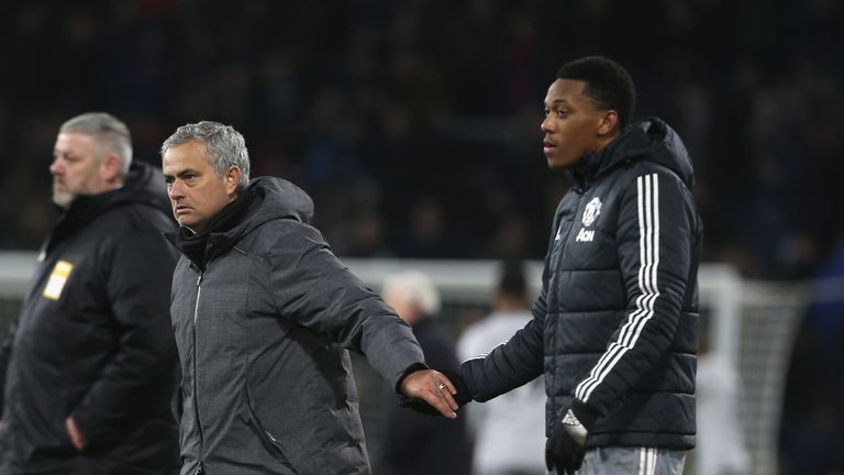 1:27                                            Jose Mourinho wants Anthony Martial to sign a new deal at Manchester United and laid down a challenge for the forward