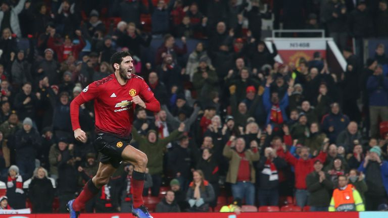 Marouane Fellaini says he is trying to repay Mourinho for the trust the manager has in him after his late winner against Young Boys on Tuesday