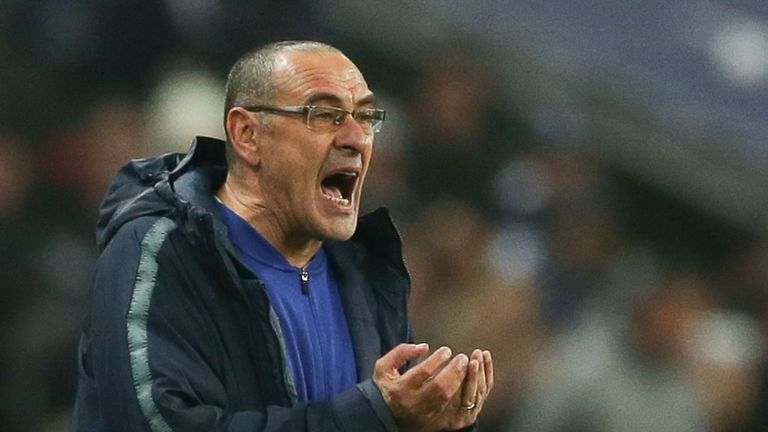 Chelsea boss Maurizio Sarri admits his side have suffered from 'blackouts' in periods of matches, as they prepare to face Manchester City on Saturday