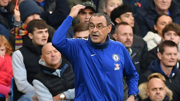 Maurizio Sarri fumes after 'disastrous' Chelsea performance in Spurs defeat | Football News |