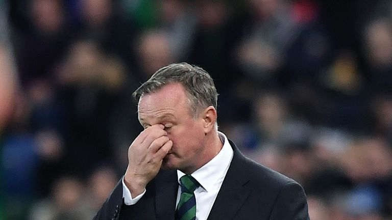 Northern Ireland's Euro 2020 qualifying draw hard to take, says Michael O'Neill | Football News |