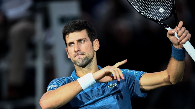 Karen Khachanov shocks Novak Djokovic to win Paris Masters final