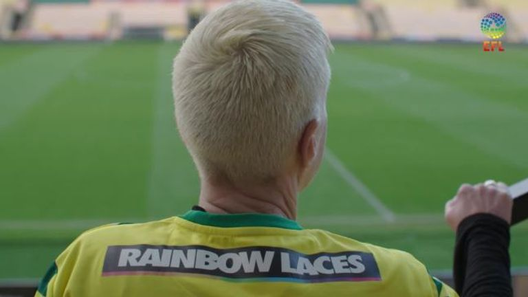 LGBT fans in EFL share their stories for Rainbow Laces | Football News |