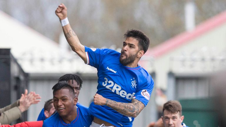 Rangers hit with five SFA charges after reaction to Daniel Candeias red card at St Mirren | Football News |
