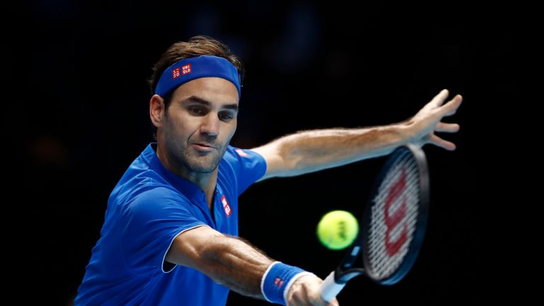 Roger Federer tops Group Lleyton Hewitt at the ATP Finals with victory over Kevin Anderson | Tennis News |