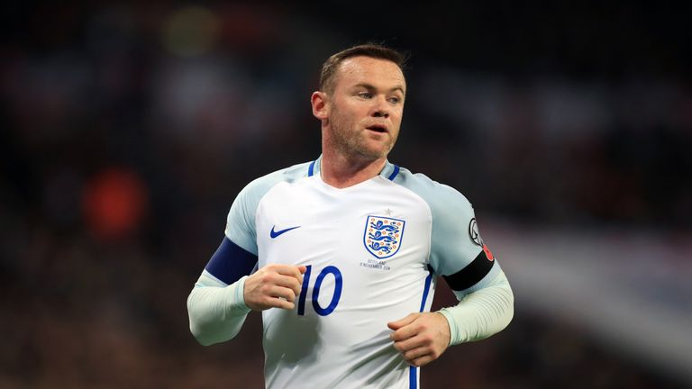1:03                                               Gareth Southgate says the England players wanted Wayne Rooney to have the number 10 shirt against the USA as