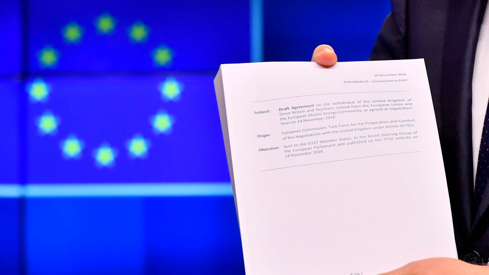 Brexit: What I've learned sifting through 585-page draft withdrawal agreement
