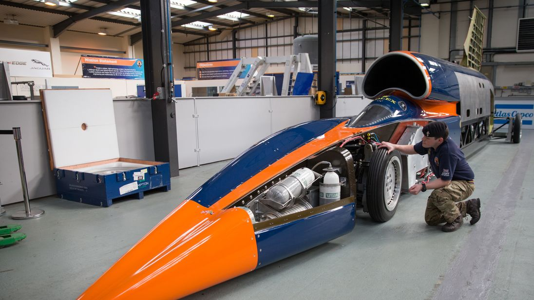 Investor stumps up cash to save record-chasing Bloodhound auto project