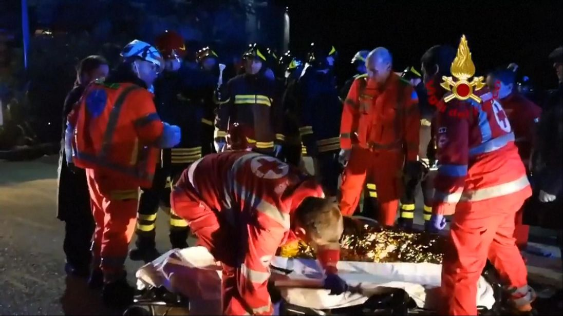 Six dead, 35 injured in nightclub stampede on Italy's coast
