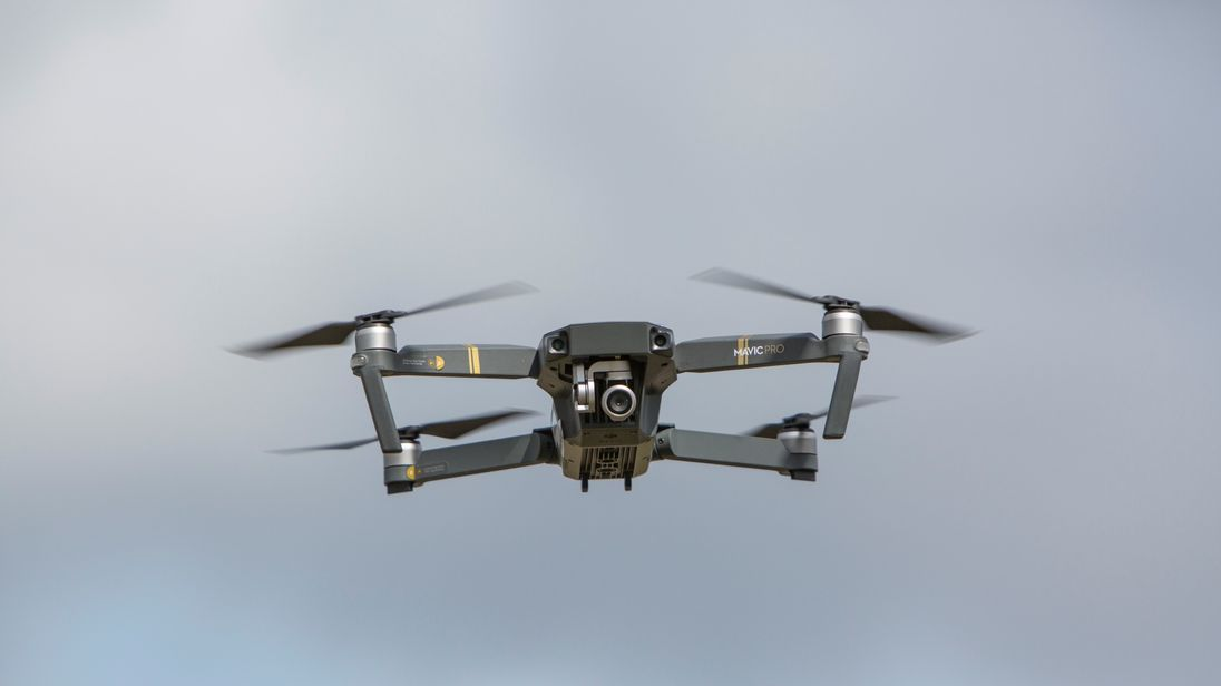 Drones have GPS systems fitted which stop them from functioning when they exceed height restrictions