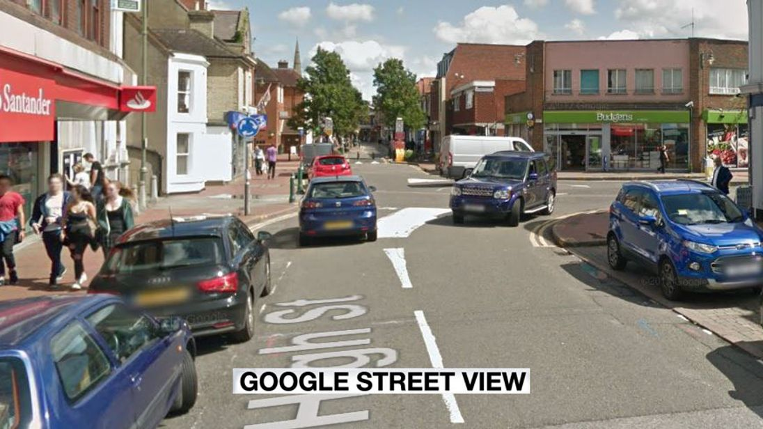 Police are appealing for witnesses to the alleged incident