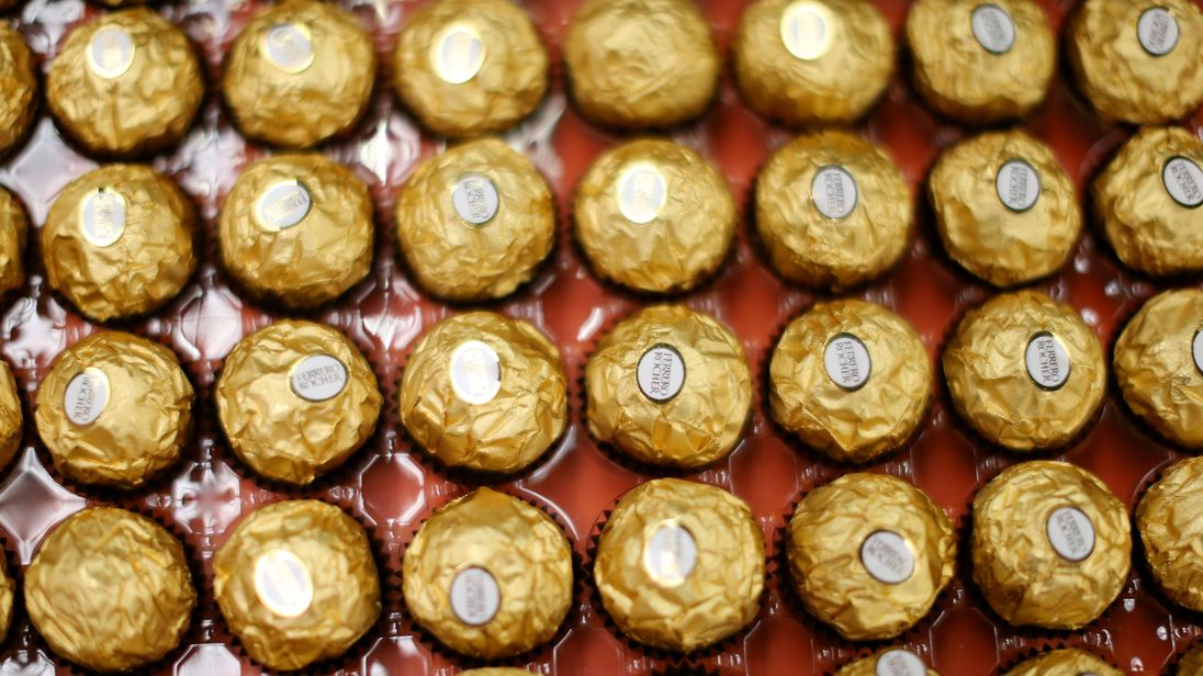 Ferrero Rocher trays are the worst offenders for most packaging by weight