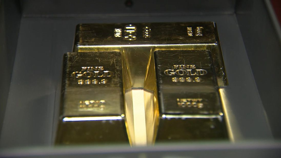 Northern Irish savers have been buying gold like this at Merrion Vaults