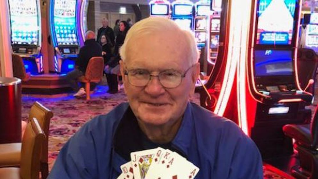 Harold M. of Lakewood, New Jersey, won $1m with a $5 bet. Pic: Borgata Casino Hotel and Spa
