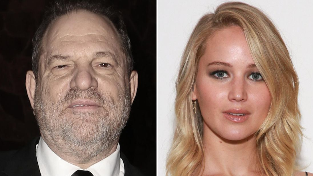Jennifer Lawrence denies Harvey Weinstein alleged claim that they slept together