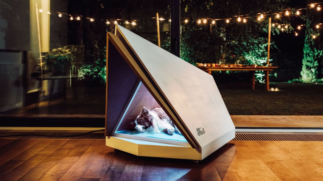 Ford built a noise-canceling kennel to placate your pup