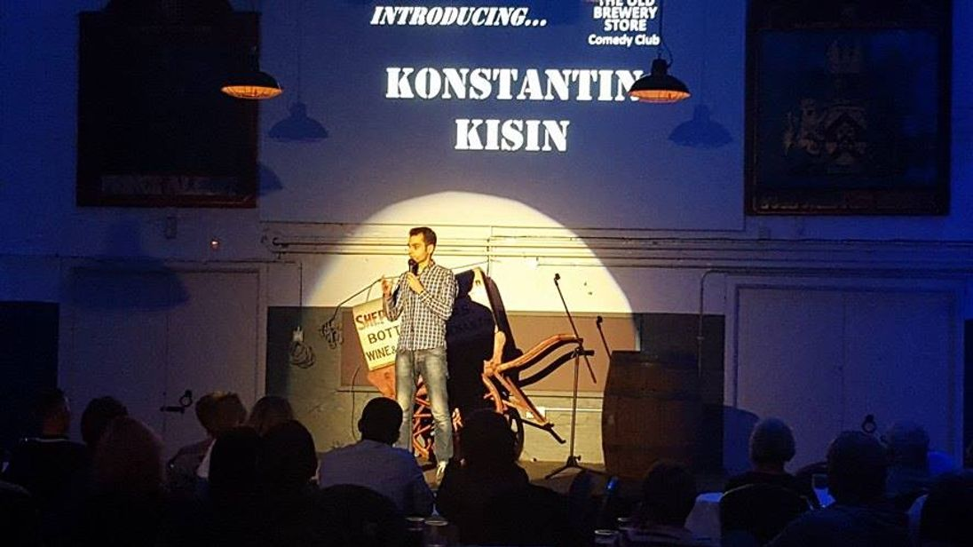 The stand-up was due to perform at the show for free. Pic: Alina Kisina/ konstantinkisin.com