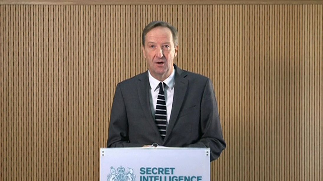 Don't underestimate our determination and capabilities, MI6 head warns Russia